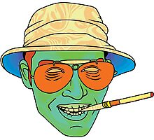 Duke (Fear and Loathing in Las Vegas) Photographic Print