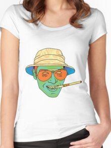 Duke (Fear and Loathing in Las Vegas) Women's Fitted Scoop T-Shirt