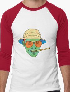 Duke (Fear and Loathing in Las Vegas) Men's Baseball ¾ T-Shirt