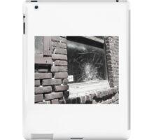 bullet hole window iPad Case/Skin