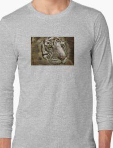 White Bengal Long Sleeve T-Shirt