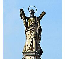 Blessed Statue - Jesus - Italy Photographic Print