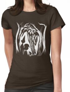 Over the Garden Wall (inversed) Womens Fitted T-Shirt