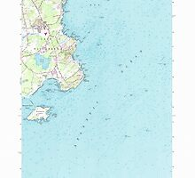 Maine USGS Historical Map Cape Elizabeth 104996 1957 24000 by wetdryvac