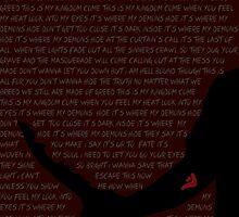 Mark of Cain (Demon - Imagine Dragons Lyrics) by Diddlys-Shop