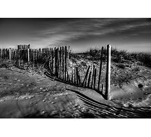 Dune Fence Photographic Print