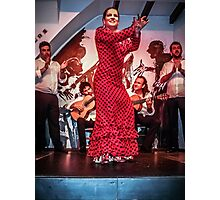The Joy of Flamenco Photographic Print