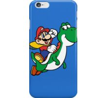 mario and yoshi iPhone Case/Skin