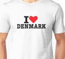 I love Denmark Unisex T-Shirt