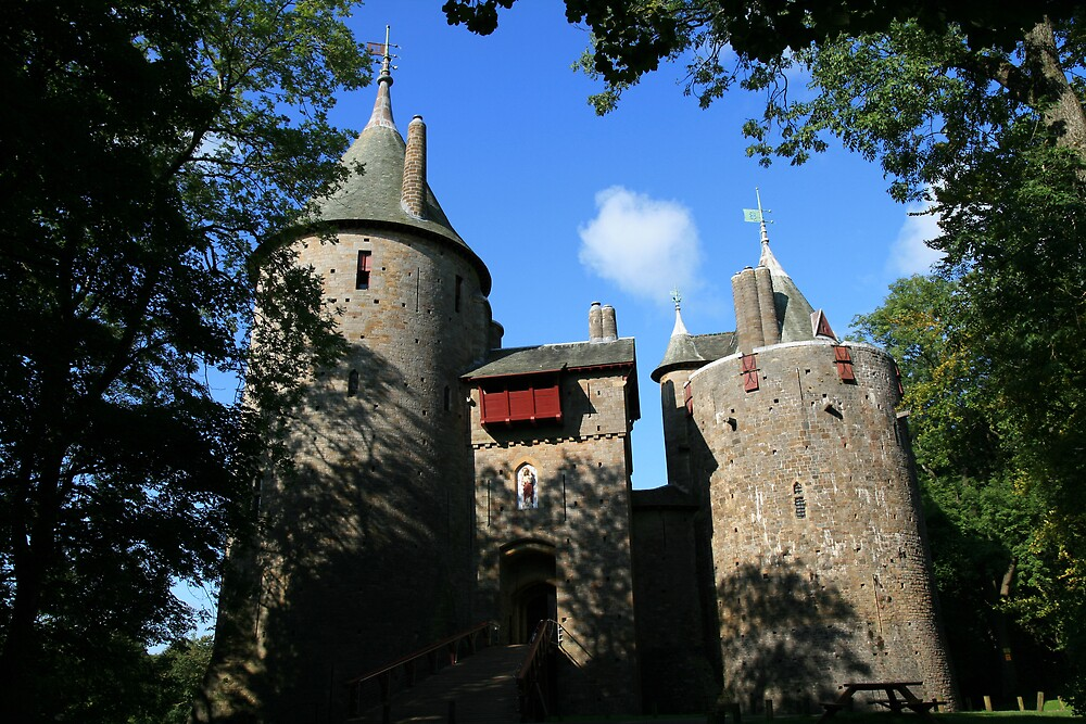 Castell Coch by DRWilliams