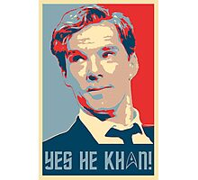 Yes he Khan.. Photographic Print