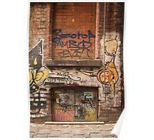 Laneway Cellar Door Poster