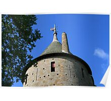 The Keep Tower at Castell Coch Poster