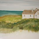 Cape Otway Lighthouse Keeper's Cottage  by Julie Fitzpatrick
