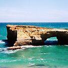 London Arch on the Great Ocean Road by Elana Bailey