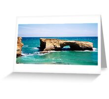 London Arch on the Great Ocean Road Greeting Card