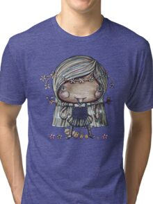 Nature Girl a la Naturale Tri-blend T-Shirt