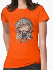 Nature Girl a la Naturale Womens Fitted T-Shirt
