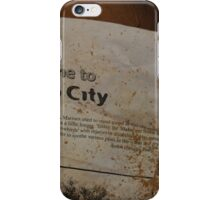 what is slab city? iPhone Case/Skin