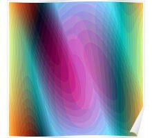 Hypnotizing shapes Poster