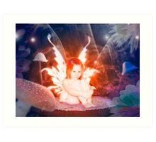 The garden fairy Art Print