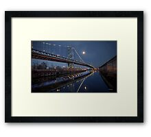 left my heart in philadelphia Framed Print