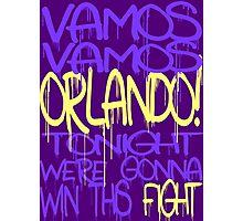 Vamos Orlando Photographic Print