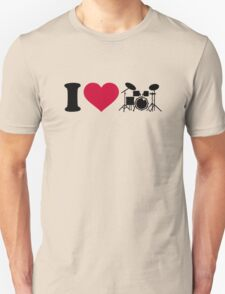 I love drums percussion Unisex T-Shirt
