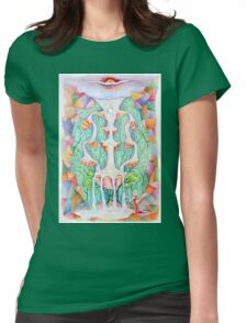 Sephirot. Tree of Life Womens Fitted T-Shirt