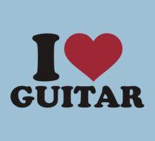I love guitar Kids Clothes