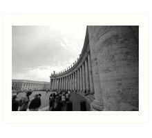 The gates of Vatican City Art Print