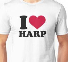 I love harp Unisex T-Shirt