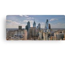 one city Canvas Print