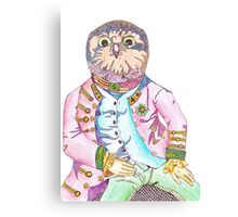 Oliver the Obnoxious Owl Canvas Print