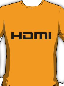 HDMI Black T-Shirt