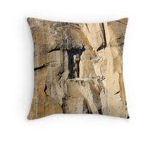 The Wall (El Capitan, Yosemite, USA) Throw Pillow