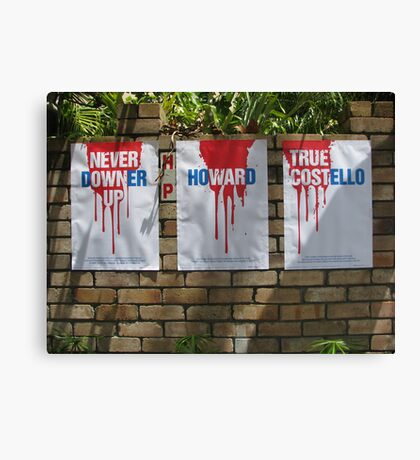 Red, White and True Canvas Print