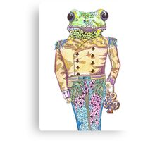 Wilfred the Witty White Lipped Tree Frog Canvas Print