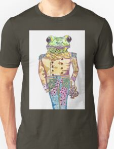 Wilfred the Witty White Lipped Tree Frog Unisex T-Shirt