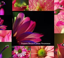PINK Collection for the Cure - Collage  by Ella Hall