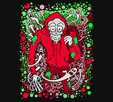 Hooded Skeleton Red Unisex T-Shirt