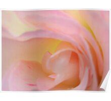 damp folds, radial blur Poster