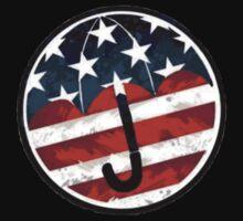 Gerard Way - Umbrella Academy Logo by Quinn Baker