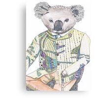 Keneth the Keen Koala Canvas Print