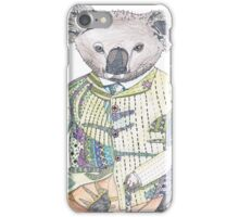Keneth the Keen Koala iPhone Case/Skin