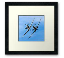 Two BBMF Spitfire PR.XIXs Framed Print