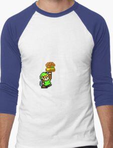 IT's Dangerous to go Alone Men's Baseball ¾ T-Shirt