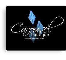 Carousel Boutique [inverted] Canvas Print