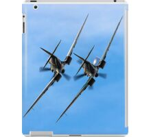 Two BBMF Spitfire PR.XIXs iPad Case/Skin