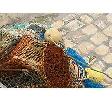 Finished Fishing Photographic Print